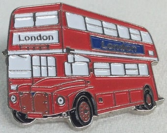 London Icons Double Decker Bus Pin