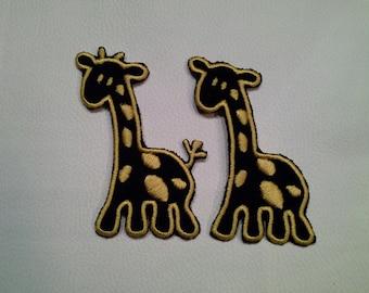 Giraffe applique instant download