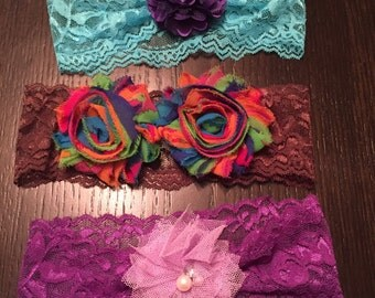 Baby Headbands set of 3