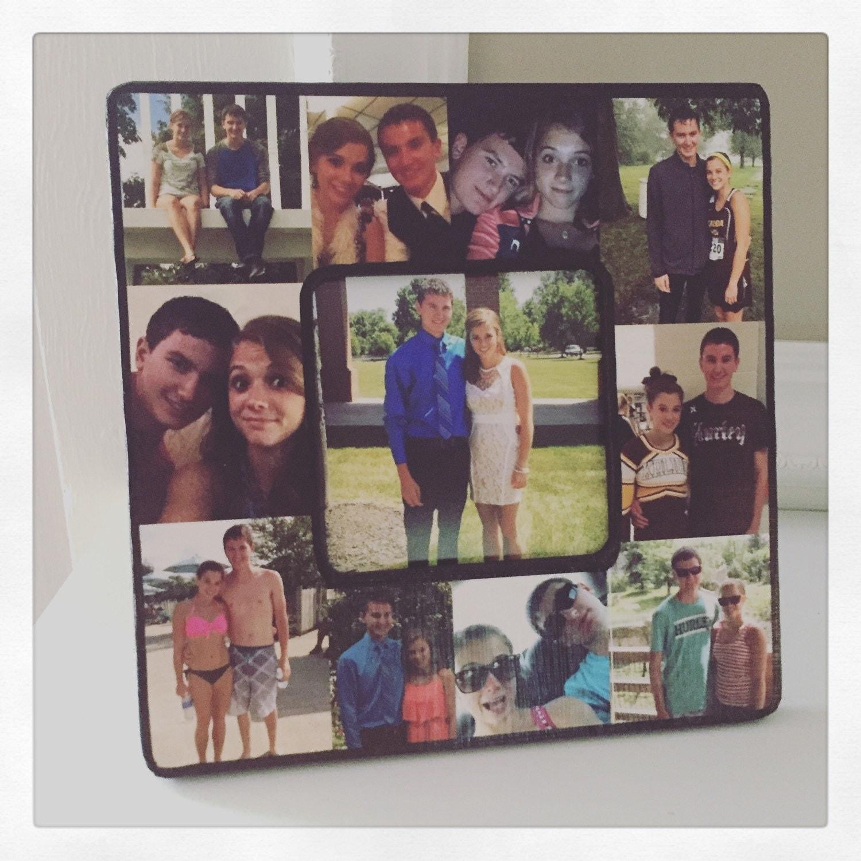 custom photo frame photo collage frame square desktop. Black Bedroom Furniture Sets. Home Design Ideas