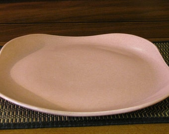 "Russel Wright American Modern 13"" Square Chop Plates Platters by Steubenville"
