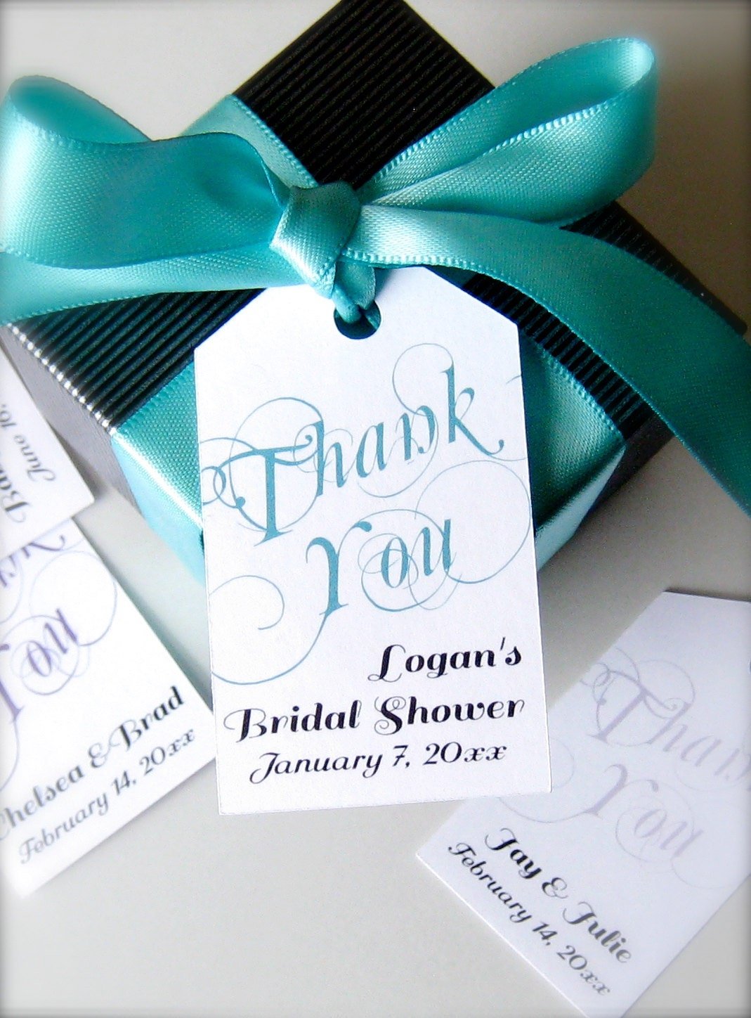 thank you favor tags wedding favor tags bridal by paperloveprints