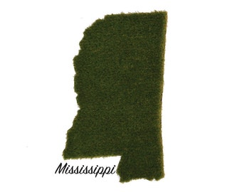 Mississippi Synthetic Grass Doormat | Rug | Wall Decor