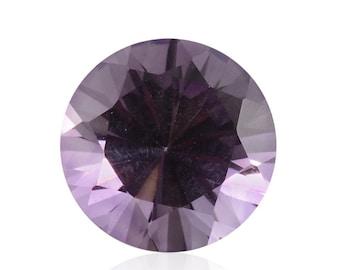 African Amethyst Round Cut 9mm Loose Gemstone 1A Quality 9mm TGW 2.25 cts.