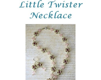 Little Twister Necklace Tutorial