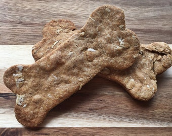 Choosy Cookies -- Peanut Butter Dog Cookies