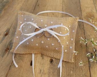 Dog ring pillows - wedding / rings / decoration / dog wedding accessory