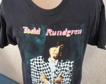 Size XL (48) -- Todd Rundgren 1991 Concert Shirt (Double Sided)