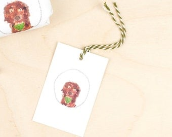 Noddy & Friends Dog Gift Tags / Pack of 4