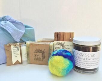 Best of Both Worlds Gift Box-Handmade soap, Handmade gifts, Handmade gift basket