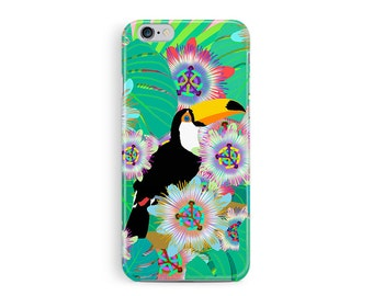 iPhone 6 Case, Toucan iPhone 6S Case, iPhone 6s case, iPhone 6s cover, phone case, Protective 6s Case, Pretty iphone 6 case, iphone case