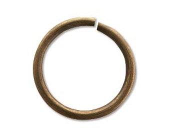 10 Vintaj 15mm Jump Ring 15ga