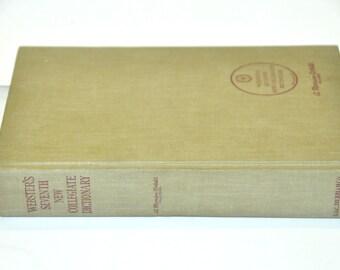 Merriam Webster's New Collegiate Dictionary. Old Dictionary. English Teacher Gift. Merriam Webster. English Dictionary. College Dictionary.