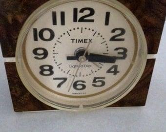 Vintage Timex Clock Etsy