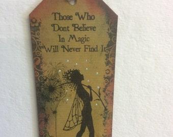 Make a wish-fairy bookmark