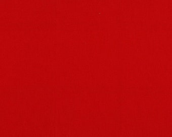 1.5 yards - End of Bolt - Cherry Red Solid Cotton Couture for Michael Miller Fabrics 2105