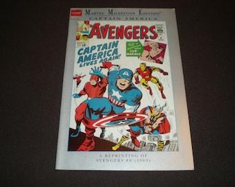 Marvel Milestone Edition 4, (1995), Avengers, Marvel Comics KM