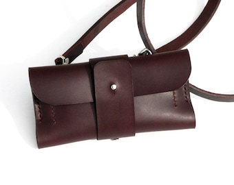 The Explorer Crossbody Authentic Leather Case/Wallet