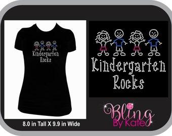 Kindergarten Rocks - Teacher Gift - Kindergarten Teacher Shirt