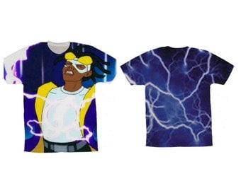 3d sweatshirt/Shirt  Static Shock