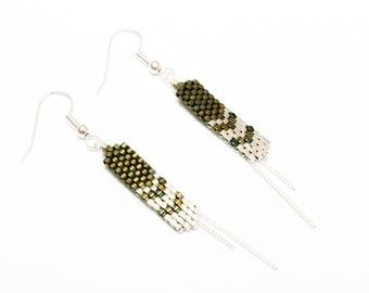 MAIA green earrings