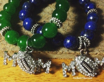 Football Mom Bracelet | Support Your Football Player