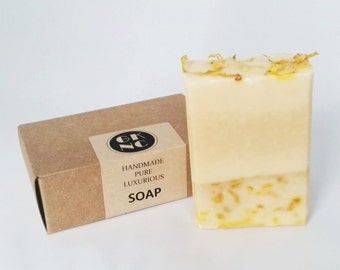 Calendula and Goats Milk Soap Unscented 100g