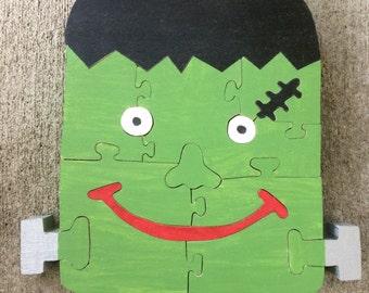 Halloween Frankenstein Puzzle