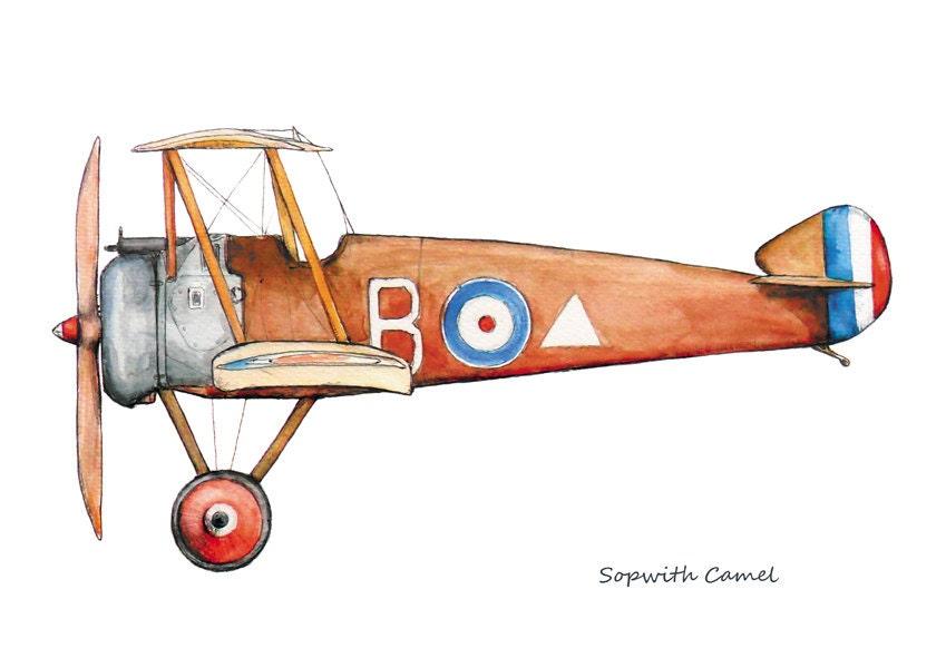 Vintage Airplane Art For Kids | www.pixshark.com - Images ...