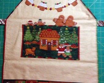 Childs Gingerbread  Apron
