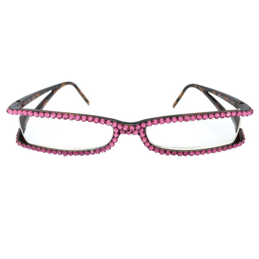 Swarovski Crystal Reading Glasses with open sides by ...