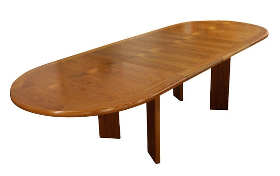 Long Narrow Teak Dining Table By FurnishMeVintage On Etsy