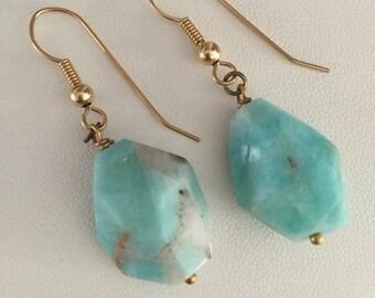 Gorgeous Amazonite Earrings