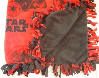 Star Wars Tie Blanket