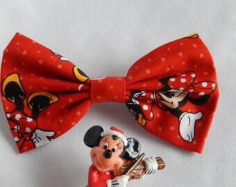 Minnie Mouse Inspired hair bow Handmade Hair Accessory