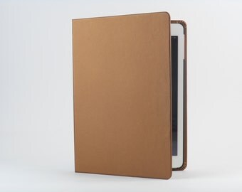 SALE: iPad Cover with Stand in Copper by Old City Cases