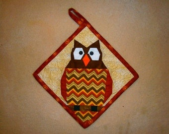 Something To Hoot About Potholder Pattern
