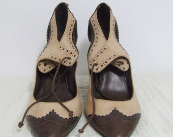 High heels shoes, party shoes, gatsby shoes, brown shows, pin up shoes, leather shoes, oxford shoes, lace shoes, womens shoes, mad men shoes