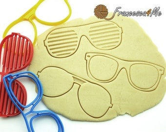 Sunglasses Cookie Cutters/Multi-Size/Set of 3
