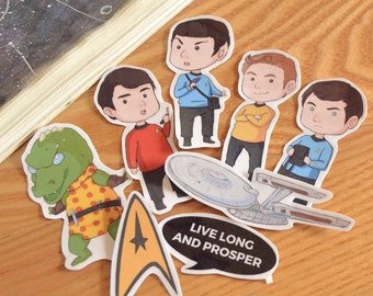 Star Trek Sticker Set