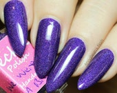 We Were On A Break 5ml (Friends Collection) Linear Holographic Cruetly Free Handmade Nail Polish
