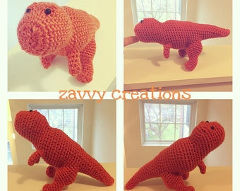 T-Rex Amigurumi Toy | Made to Order