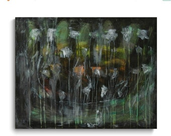 """On Sale Original abstract Painting acrylic on canvas   28""""x22""""x3/4"""""""
