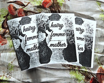 Hairy Femme Mother zine