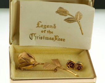 Giovanni Christmas Rose Set