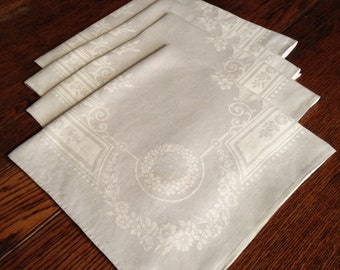 Set 4 Linen Napkins