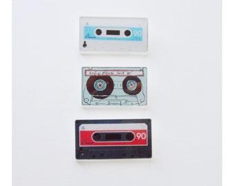 Retro Cassette Pins