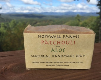 Patchouli with Aloe Soap