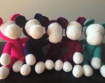 Crochet Monkey Toy