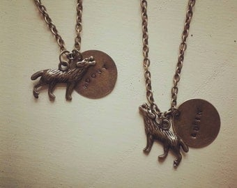 Moony Remus Lupin Werewolf Necklace